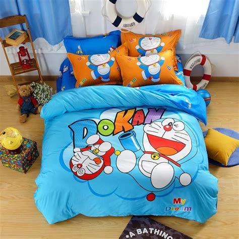 Fata Bed Cover Single Set Doraemon popular doraemon bed buy cheap doraemon bed lots from