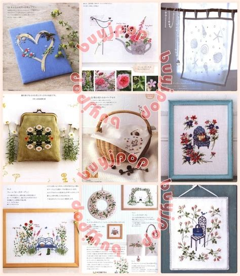 japanese embroidery pattern book japanese embroidery craft pattern book stitch idees 23