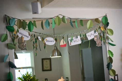 Super Bowl Decorating Ideas Where The Wild Things Are Birthday Party 6 Eliza Domestica