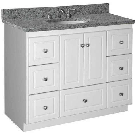 bathroom vanities strasser woodenworks 42 quot w simplicity