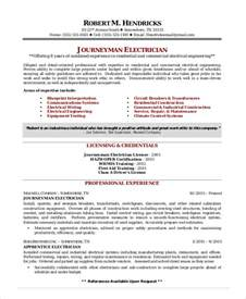 electrician resume template 5 free word excel pdf