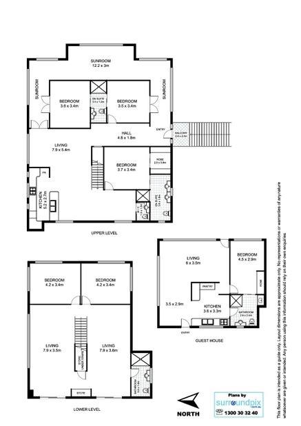 floor plans surroundpix floor plans of sle house 1 brisbane qld surroundpix