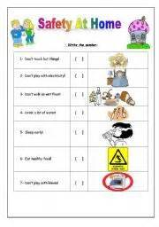Home Safety Worksheets For by Worksheet Safety At Home Science Assess
