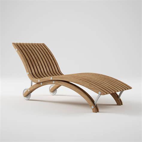 teak chaise lounge 3d model of diamond teak chaise lounge