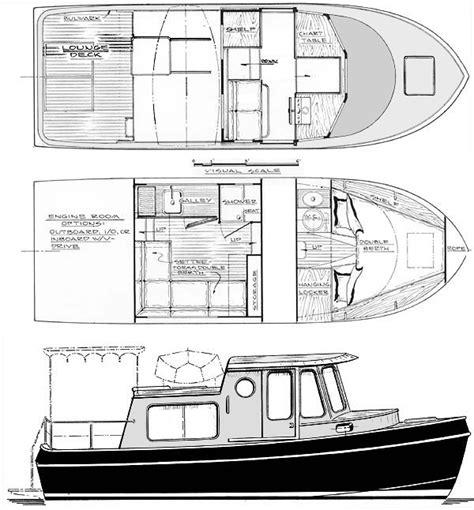 wooden boat plans cruiser coastal cruiser 25 trailerable motoryacht boat design you
