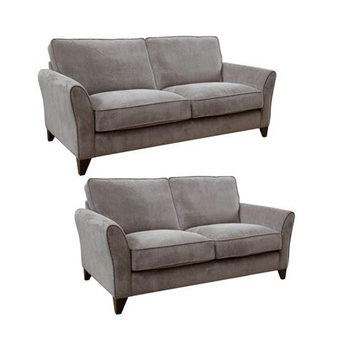sofas at debenhams debenhams set of large and medium grey fyfield sofas