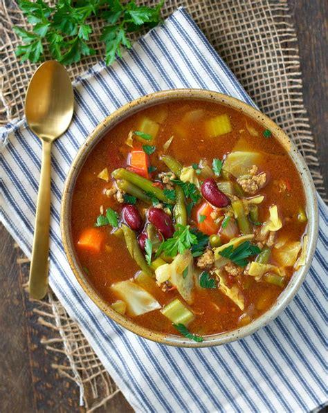 Detox Soup Cooker by Cooker Quot Cabbage Patch Quot Detox Soup Recipelion