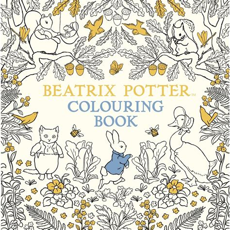 coloring book beatrix potter colouring book hobbycraft