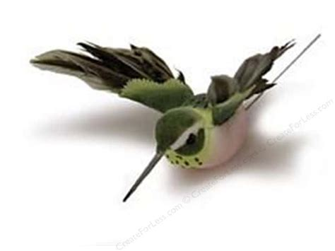 midwest design artificial birds 2 1 4 in feather