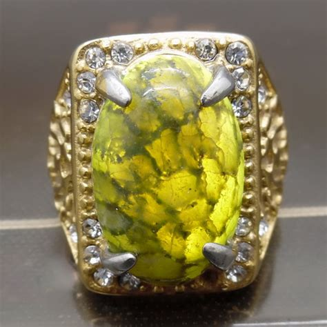 Cincin Ular Perak batu cincin mustika ular dunia pusaka sakti