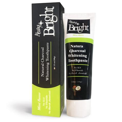 amazoncom activated charcoal teeth whitening toothpaste