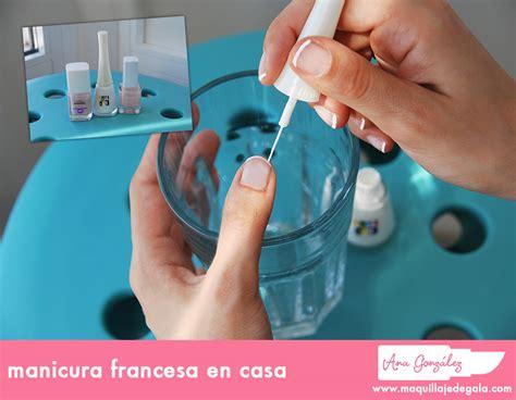 manicura francesa en casa manicura francesa en casa maquillaje de gala