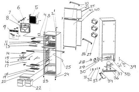 vissani refrigerator parts model mcbr1020w sears