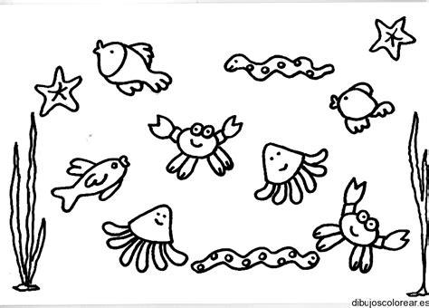 imagenes animales marinos para colorear animales marinos para colorear az dibujos para colorear