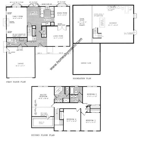 homes by marco floor plans wesmere subdivision in plainfield illinois homes for