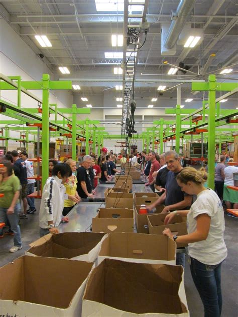 food pantry in houston mormons spend annual day of service at houston food bank