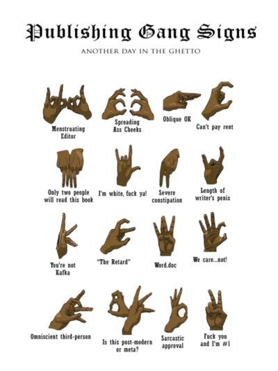 street gang hand signals at risk youth in toronto