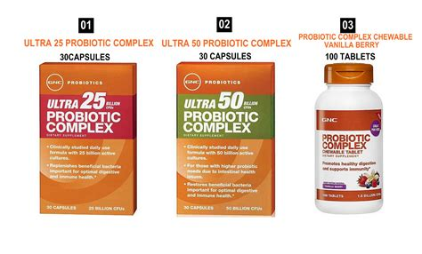 buy best seller beat bloating gnc ultra probiotic complex 25 50 probiotic complex chewable