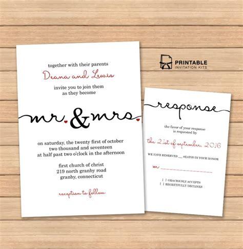printable invitation kits free pdf wedding templates with easy to edit textboxes