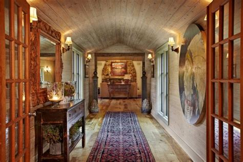 great rustic hallway designs   inspire
