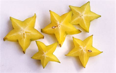 Yellow Kitchen Decorating Ideas Star Fruit In Mango Orange Sauce Recipe