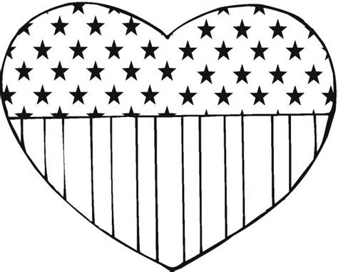 A Coloring Page Of The American Flag by American Flag Coloring Pages Best Coloring Pages For