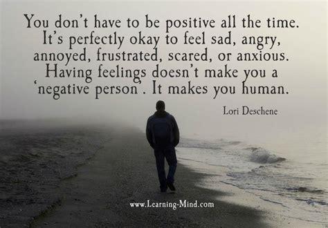 feel sad      benefit  sadness learning mind