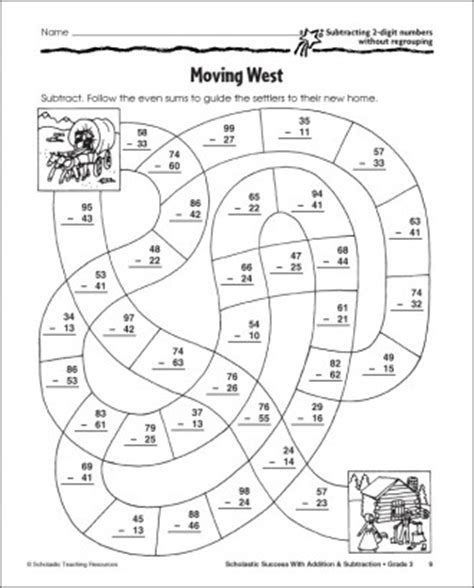 printable addition games with regrouping 2 digit subtraction without regrouping activities 1