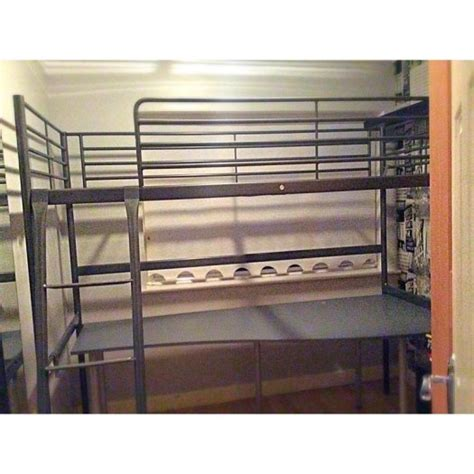 Loft Bed Frame With Desk Ikea Loft Bed Frame With Desk Top Need Asap For Sale In Ashbourne Meath From Calvin Kilburn