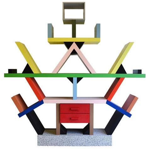 Small Deep Bookcase Ettore Sottsass Designer Dossier Apartment Therapy