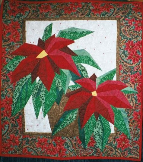 pattern for paper poinsettia 1000 images about paper piece quilt patterns on pinterest