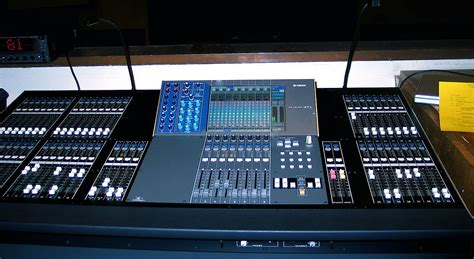 Mixer Audio Digital digital mixing console