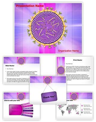 Wiral Template By Theme Country Professional Influenza Virus Editable Powerpoint Template