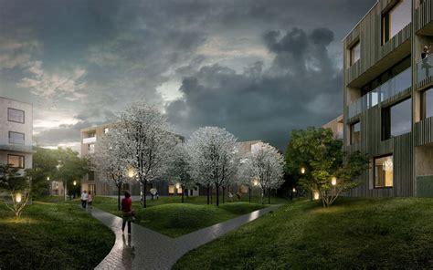 city dorms green city housing complex by chybik kristof associated