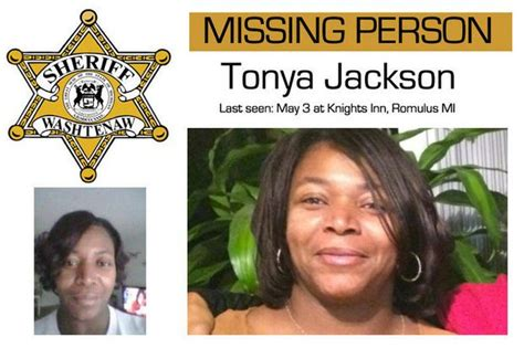 Washtenaw County Records Timeline Of The Mysterious Of Tonya Jackson Mlive