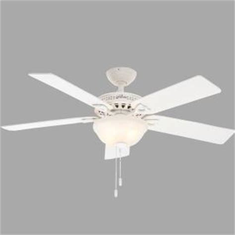 astoria 52 in indoor white ceiling fan with light