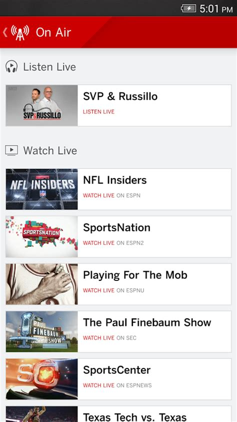 espn android app espn android apps on play