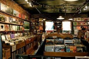 Record Stores In Record Shop On