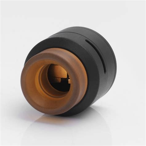Csl Goon Lp By 528custom 24mm Stainless Steel Rda authentic 528 custom goon low profile rda black rebuildable atomizer