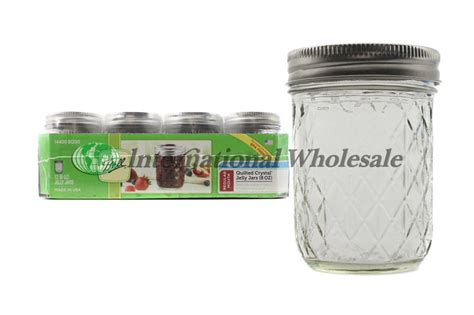 Quilted Jars Wholesale by Quilted Jar 12 8 Oz Wholesale