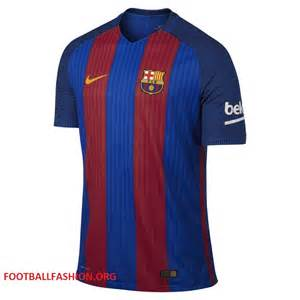 Fc barcelona today presented their nike home kit for their 2016 17