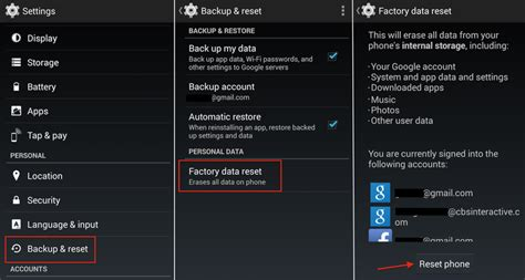 Reset Android Phone Completely | the best way to completely wipe your android device cnet