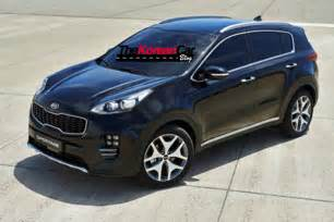 Kia All All New 2016 Kia Sportage Revealed In Leaked Images