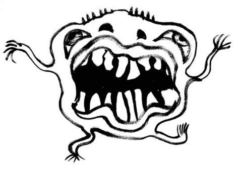 imagenes de halloween viros para dibujar dibujo de bacteria germen virus y carie para pintar y