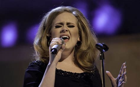 female singer dying adele will sing at the oscars academy confirms telegraph