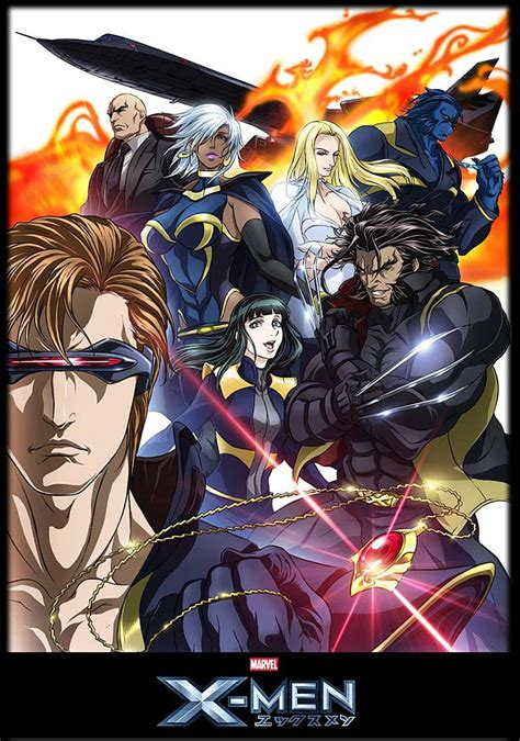 Anime X by Anime Images Marvel Anime Poster Hd Wallpaper