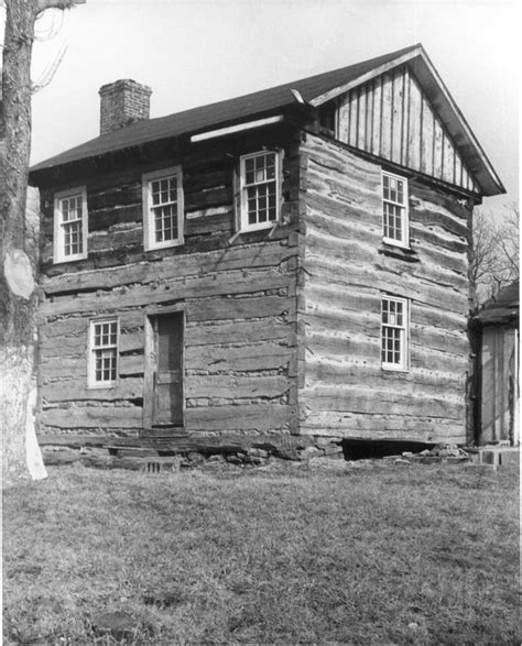 Octagon Cabin log buildings 1638 1880 phmc gt pennsylvania