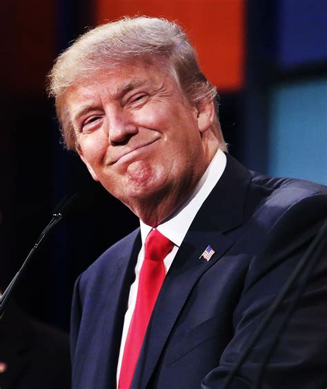 donald trump funny face top polling gop candidates participate in first republican