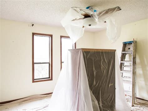 Why Are There Popcorn Ceilings by How To Remove A Popcorn Ceiling How Tos Diy