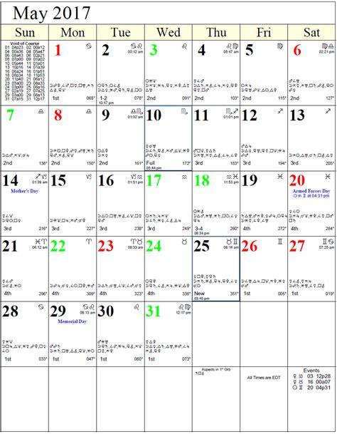 Astrological Calendar Monthly Astro Calendars Cafe Astrology